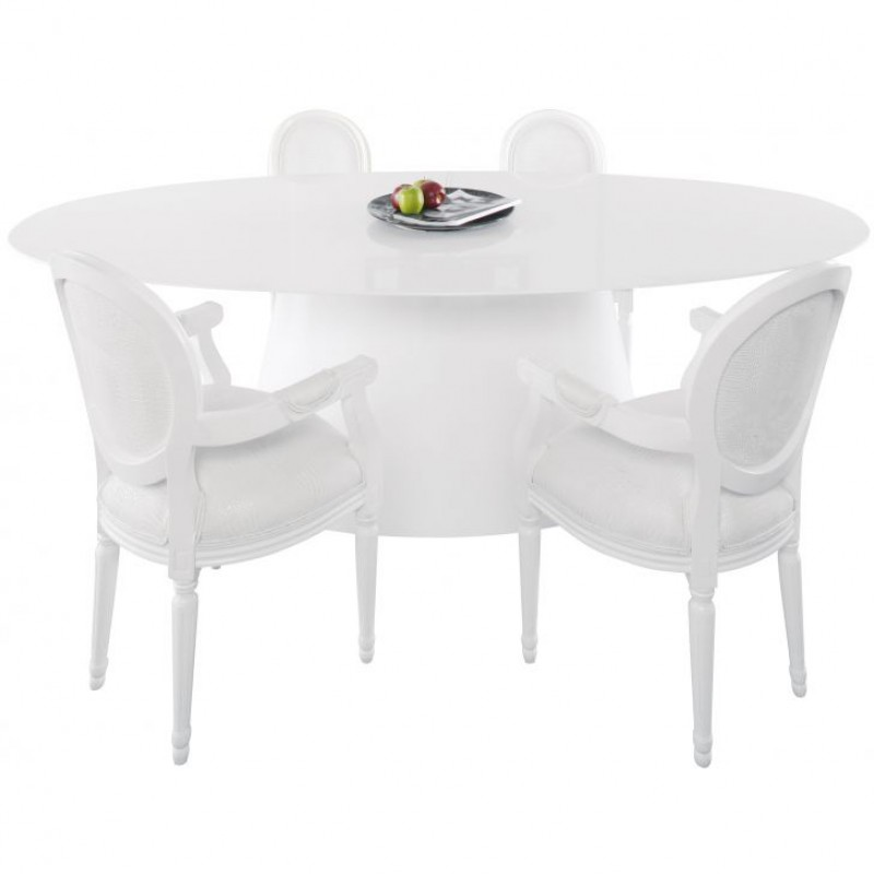 Witte Eettafel Design.Ovale Witte Eettafel Affordable Benito With Ovale Witte Eettafel