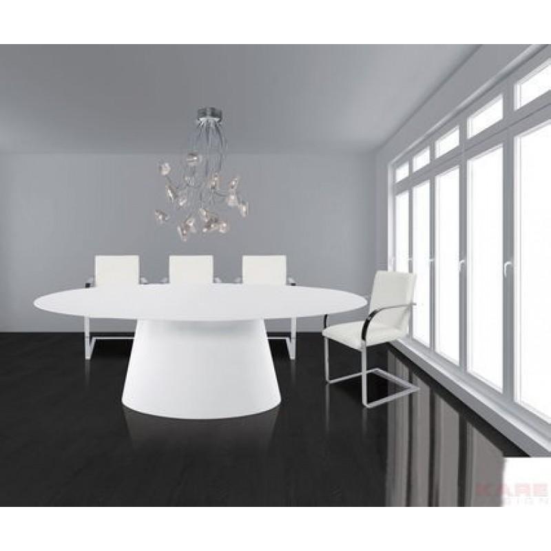 Ovale design eettafel Controversia bestellen  Onlinedesignmeubel.nl