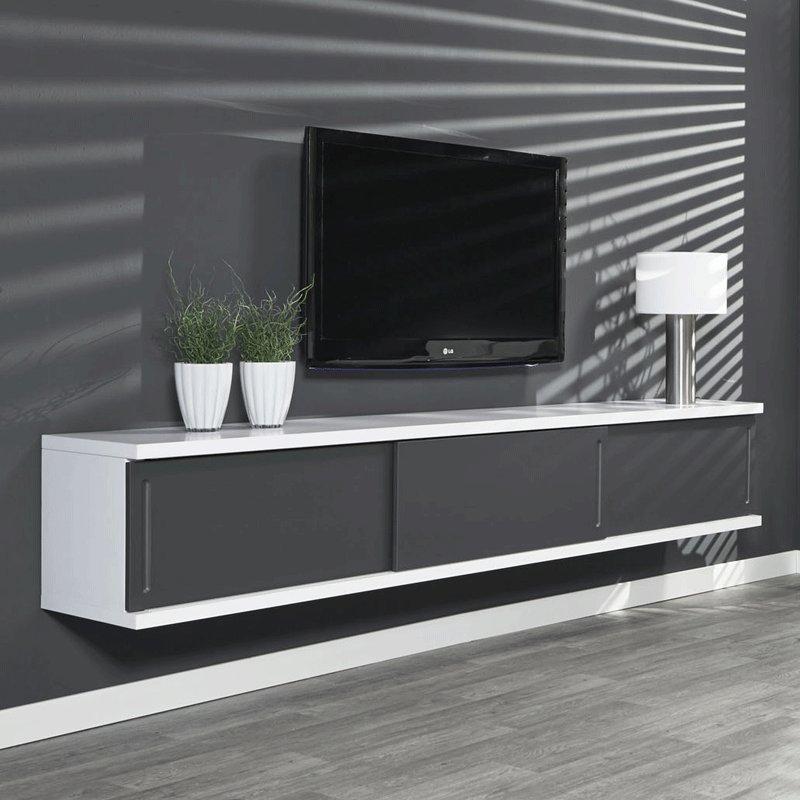 Hangend tv meubel wit giani laret 160 m for Meubel sale