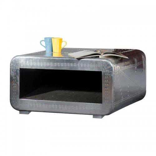 Aluminium salontafel 80V