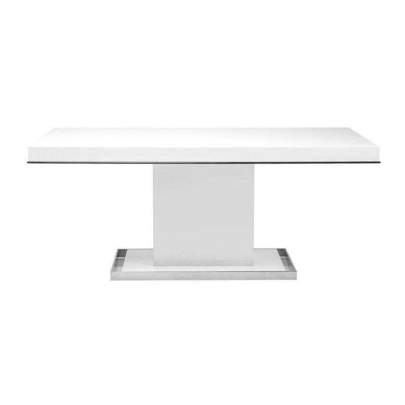 Art Deco tafel Vanity White