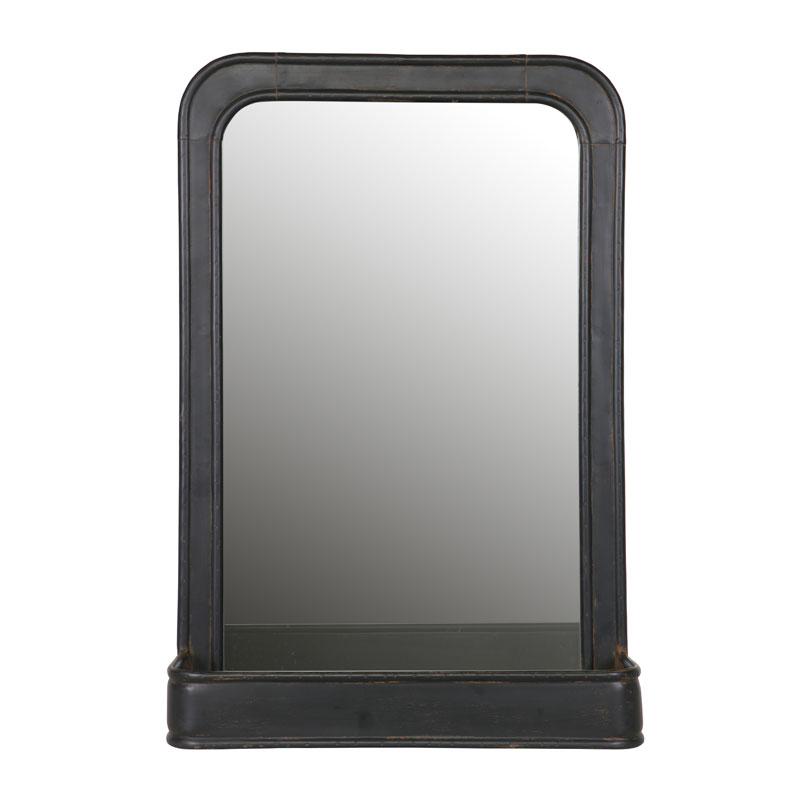 Stoere spiegel met planchet