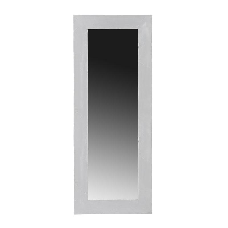 Wandspiegel met betonnen frame