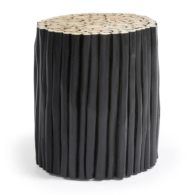 Bijzettafel zwart hout kopen?  Online Internetwinkel