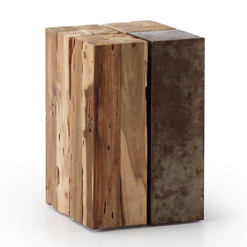 Bijzettafeltje hout LaForma Ognak