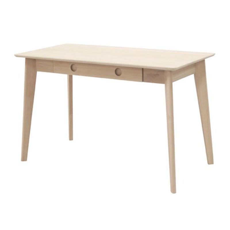 Design houten bureau met lade