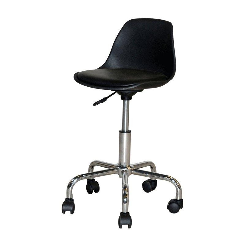 Design bureaustoel van kunstleer