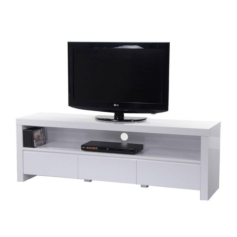 Hoogglans wit tv-meubel 150 cm  Giani Fiore  LUMZ.nl
