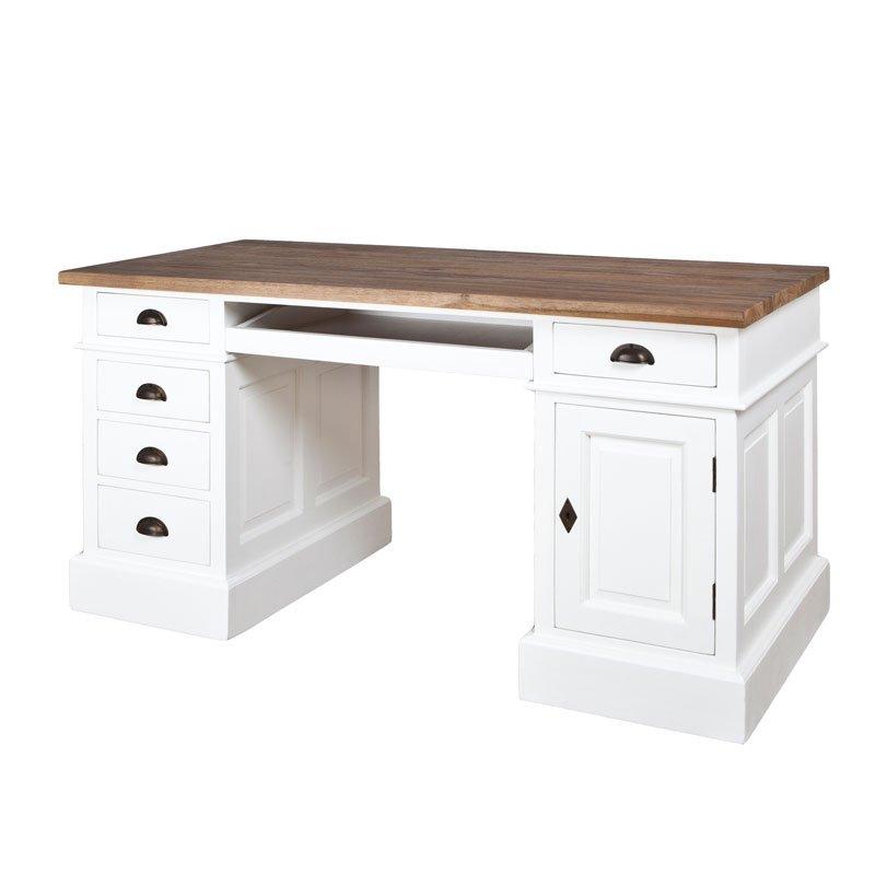 Landelijk bureau wit met hout  Ramos Muret  LUMZ.nl