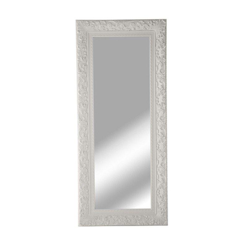 witte spiegel barok kare design tendence opulence. Black Bedroom Furniture Sets. Home Design Ideas