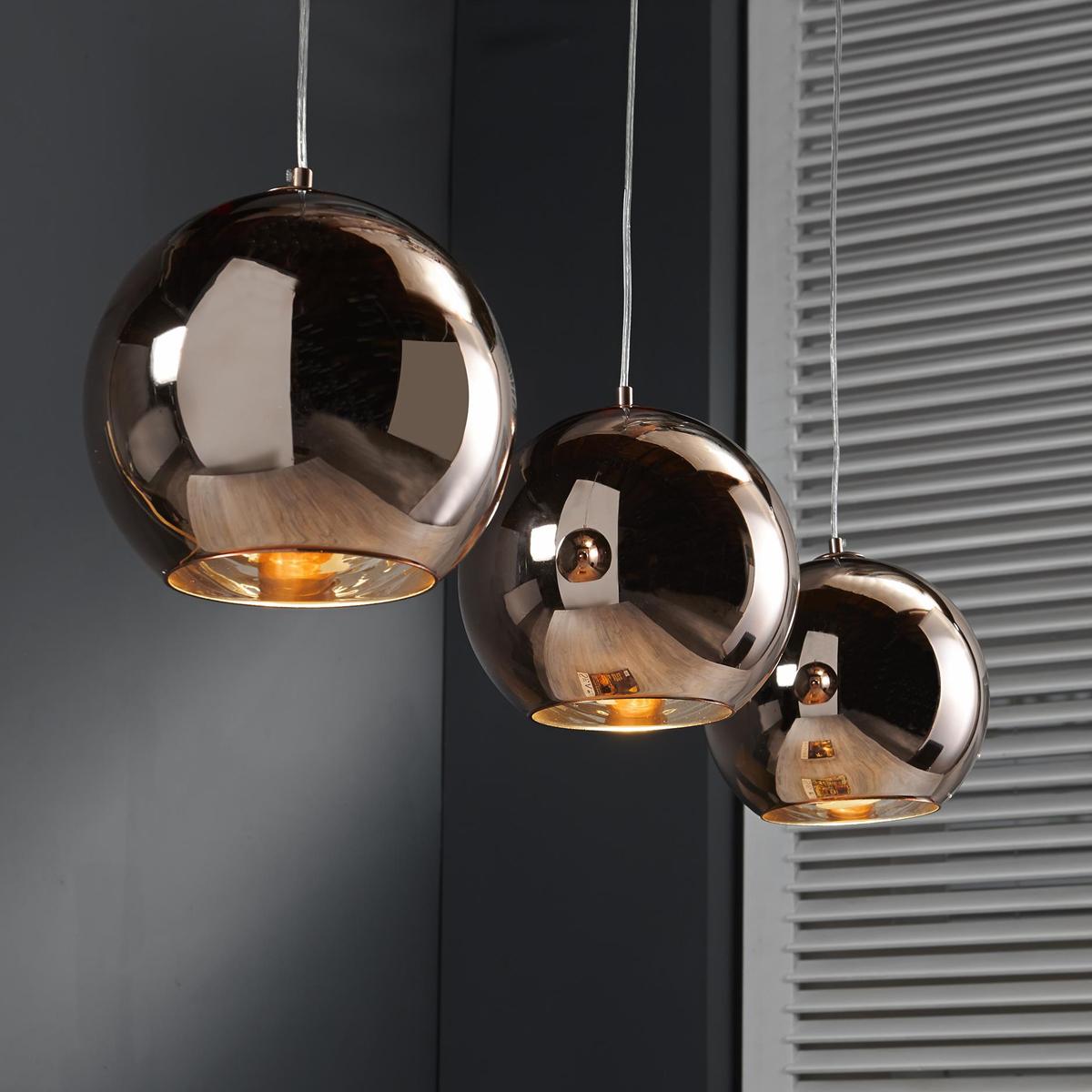 Moderne glazen hanglamp