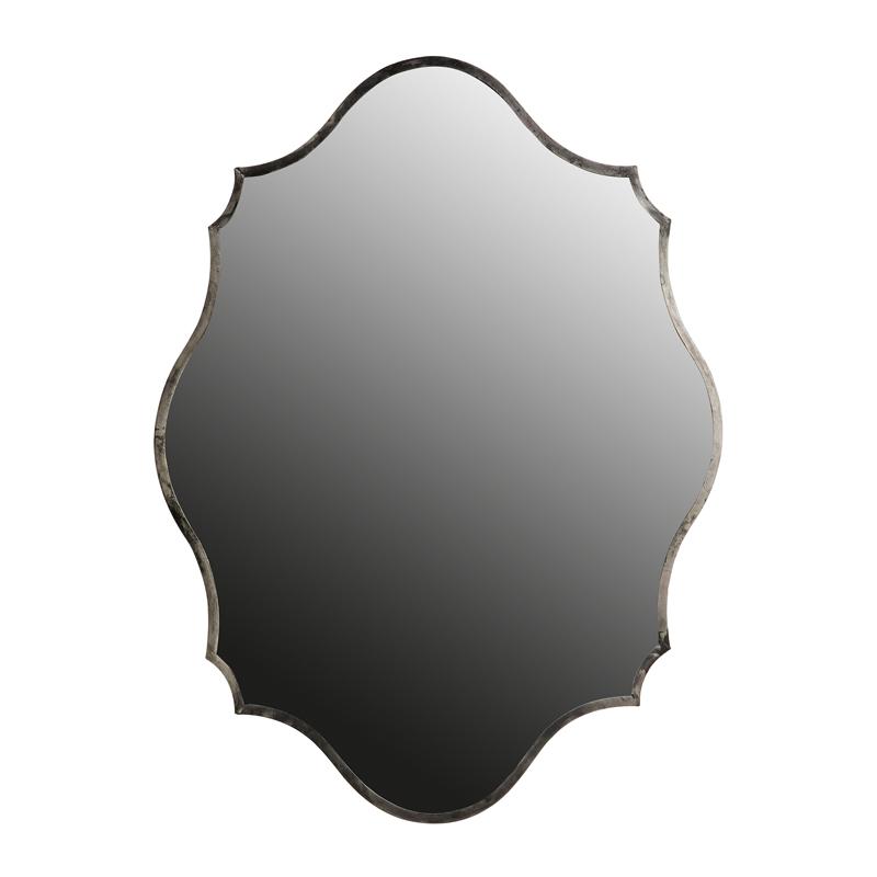 Spiegel metaal antique zilver