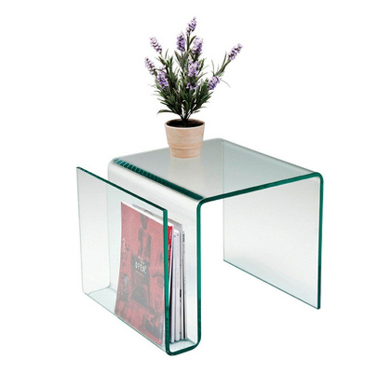 Bijzettafel In Glas.Bijzettafel Glas Clear Club N Bestellen Onlinedesignmeubel Nl