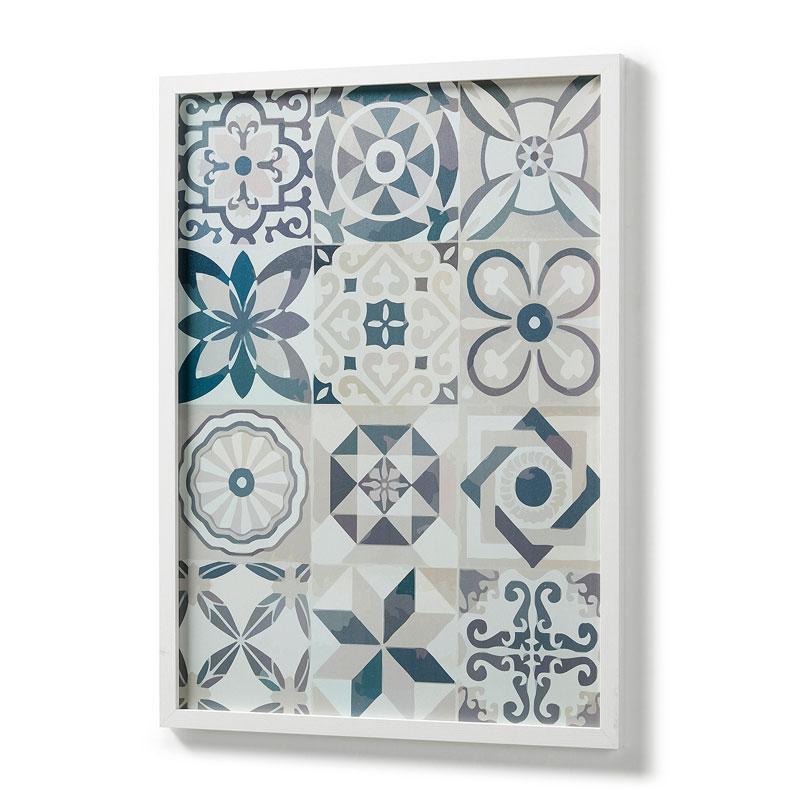 Blauw-wit decoratie