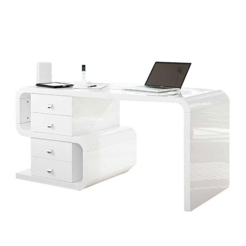 bureau hoogglans wit club s bestellen. Black Bedroom Furniture Sets. Home Design Ideas