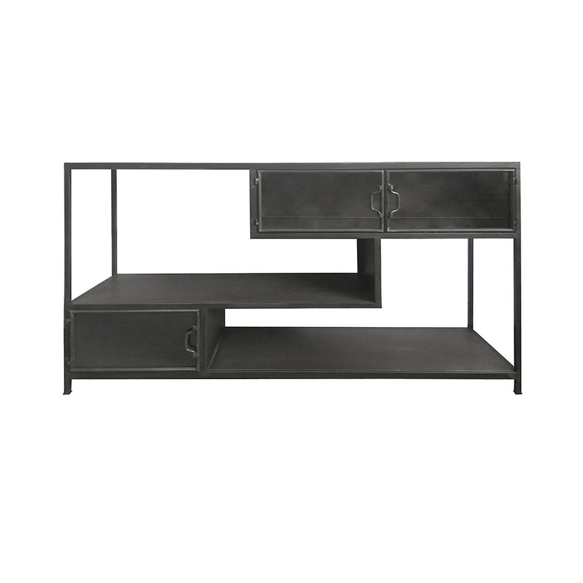 Beste By-Boo Tuck | Metalen dressoir zwart | 4040 | LUMZ GR-85