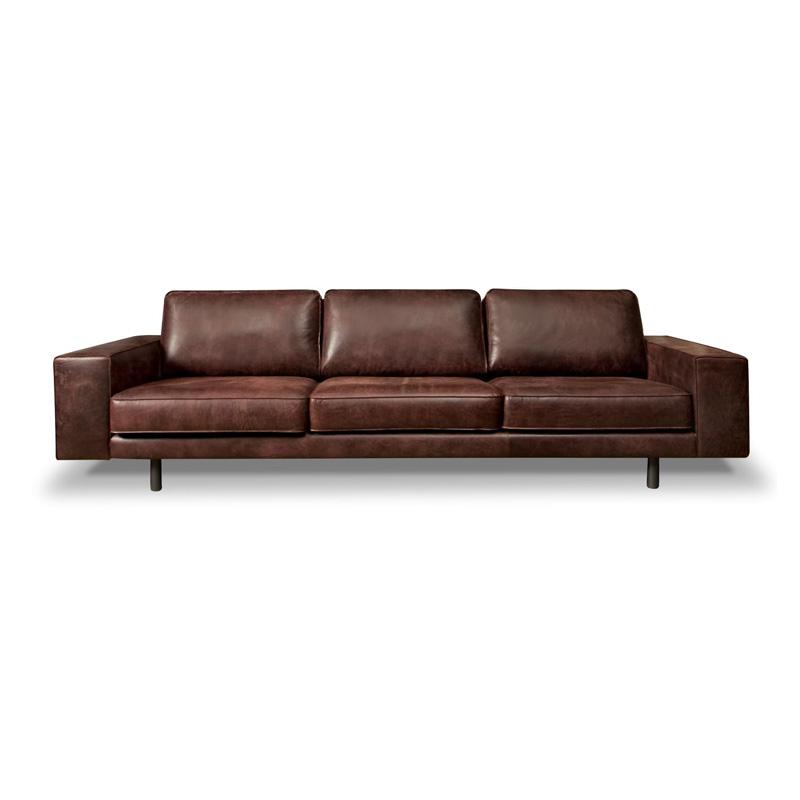 Leren design bank - Het Anker meubelen Caprese ...