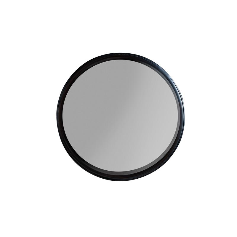Fabulous Ronde spiegel van zwart metaal | LUMZ Home Raj | LUMZ PA57