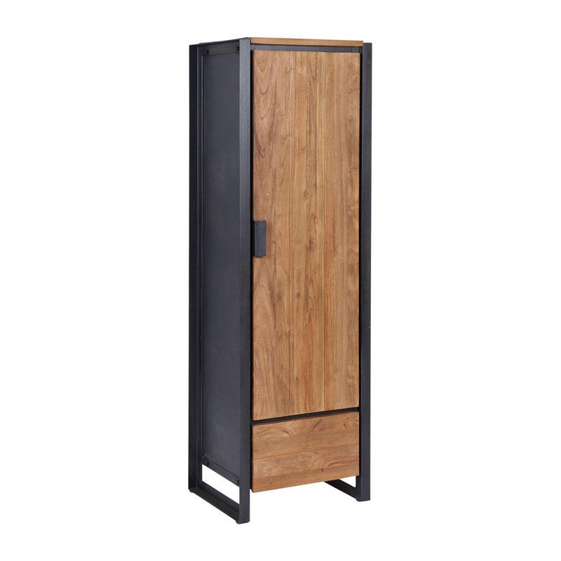 Wandkast van hout