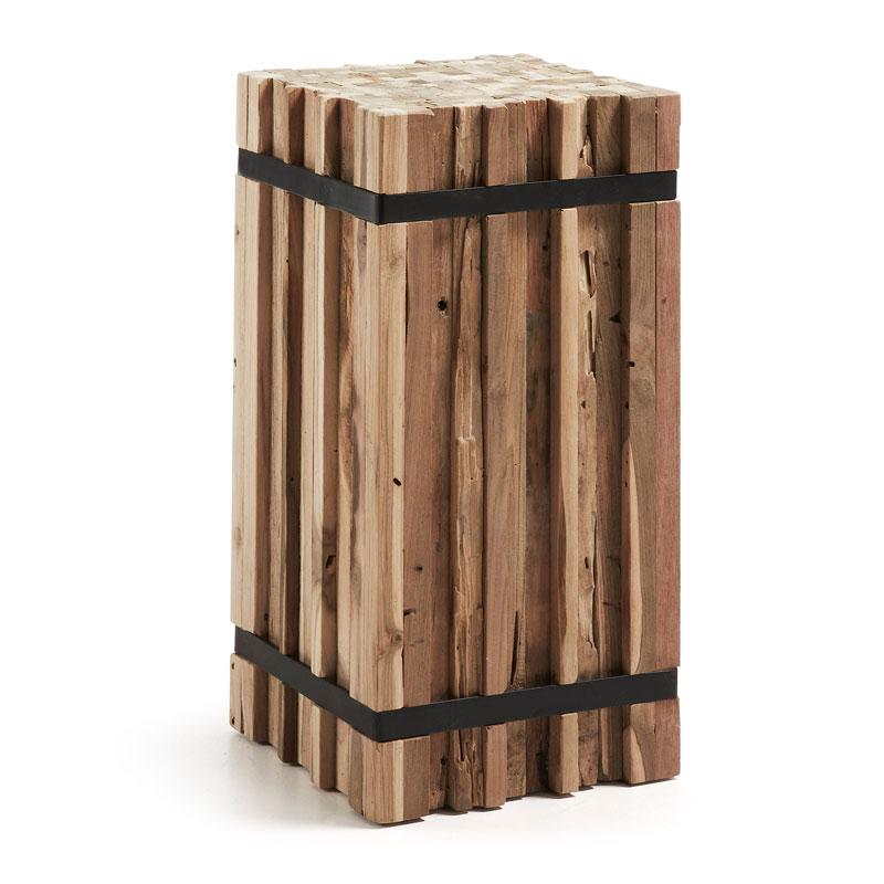 Rechthoekig blok van hout