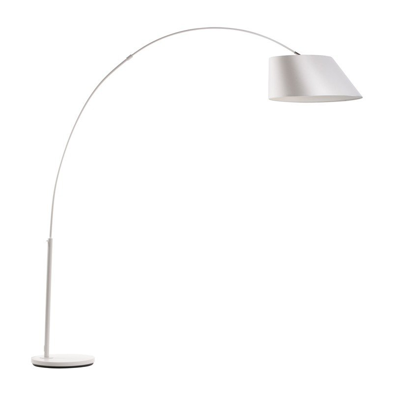 Witte design booglamp