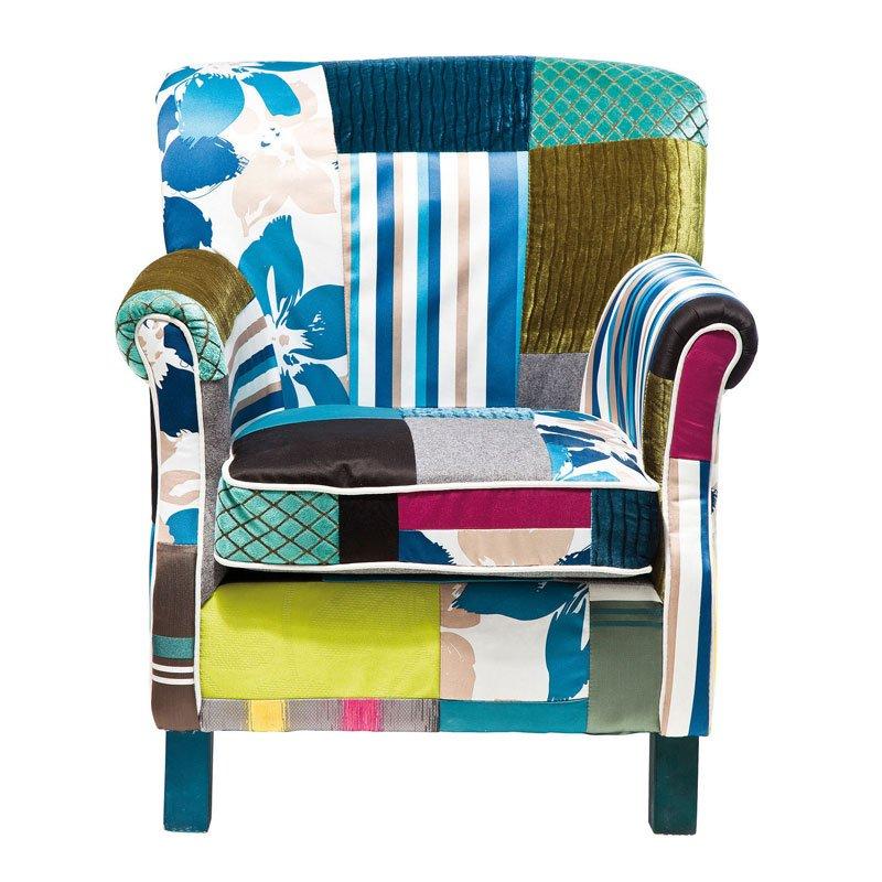 Design fauteuil Patchwork Stripes