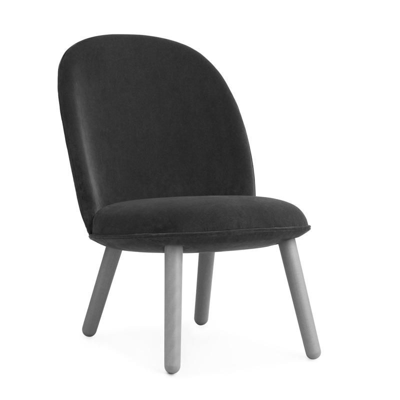 Design fauteuil van fluweel