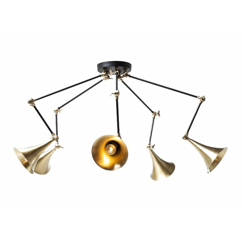 Design hanglamp Trumpet