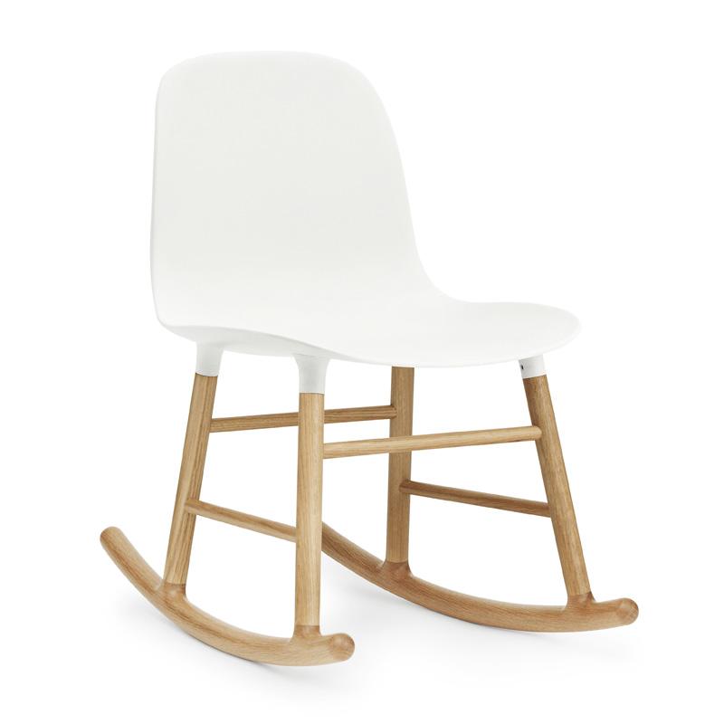 Scandinavisch Design Schommelstoel.Design Schommelstoel Eiken Normann Copenhagen Form Lumz