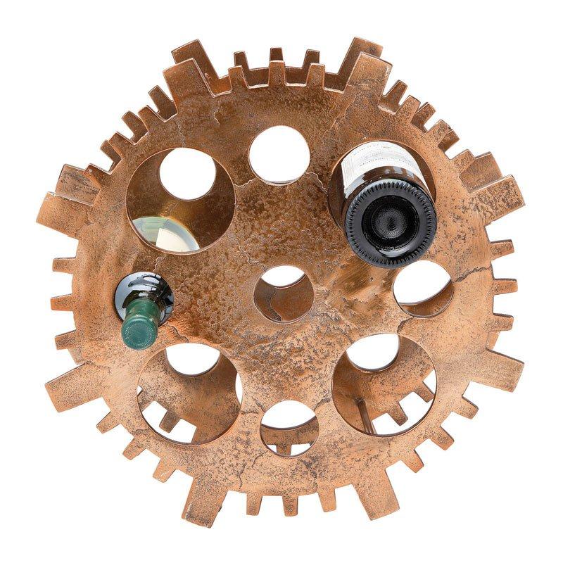 Design wijnrek Gear Copper