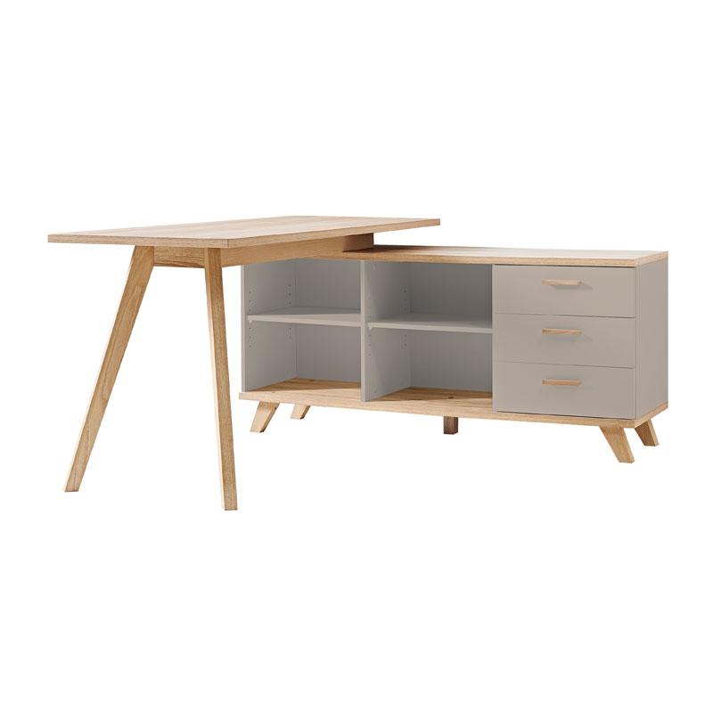 germania oslo mat grijs bureau lumz. Black Bedroom Furniture Sets. Home Design Ideas