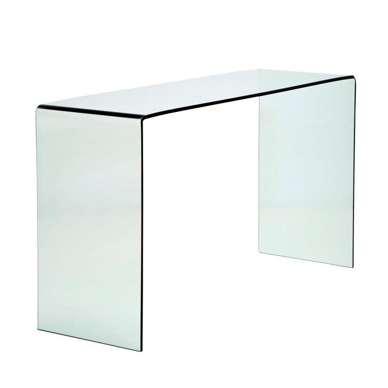 Glazen sidetable Giani Clear 110