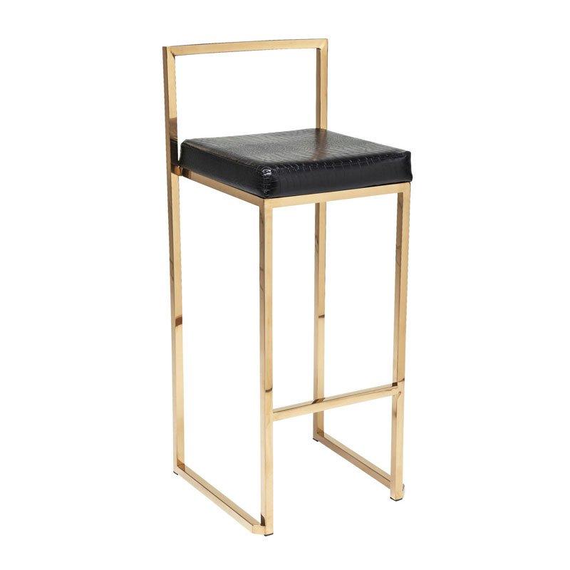 Gouden design barkruk Jazz
