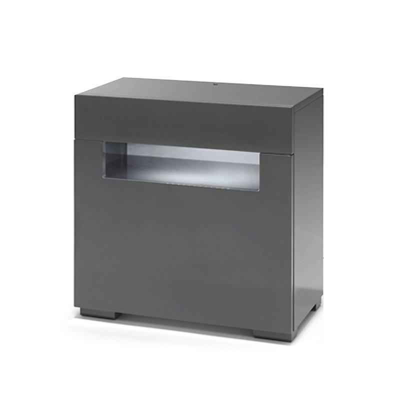 Verwonderlijk Grijs nachtkastje met Led verlichting   Onlinedesignmeubel.nl YZ-41