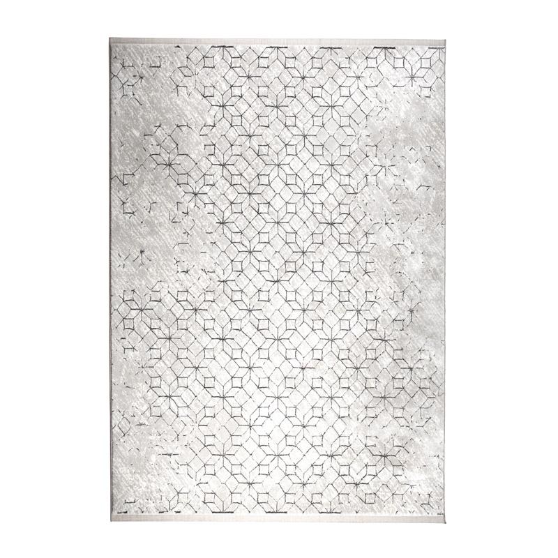 Grijs vloerkleed modern