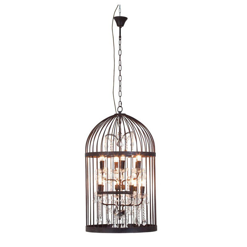 Grote hanglamp Cage Chandelier 56