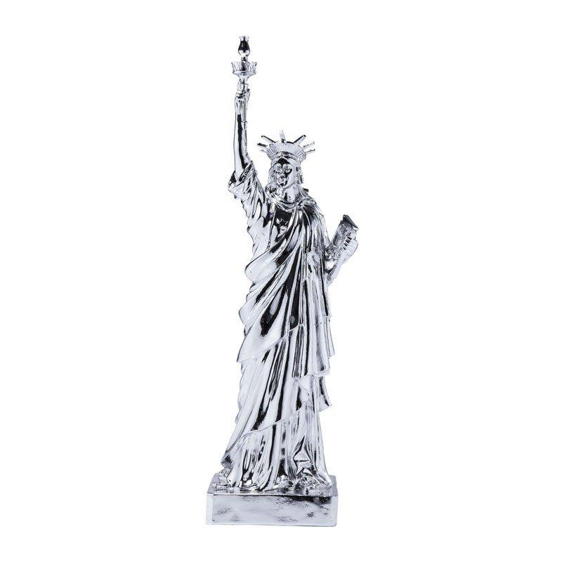 Grote spaarpot Liberty Chrome