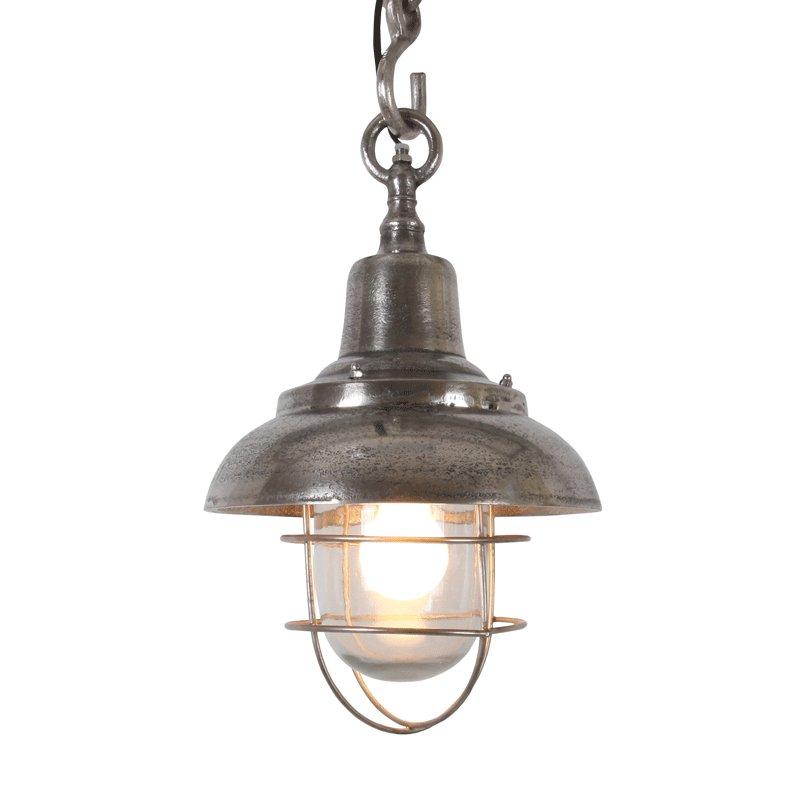 Hanglamp nikkel Iluce Jerom