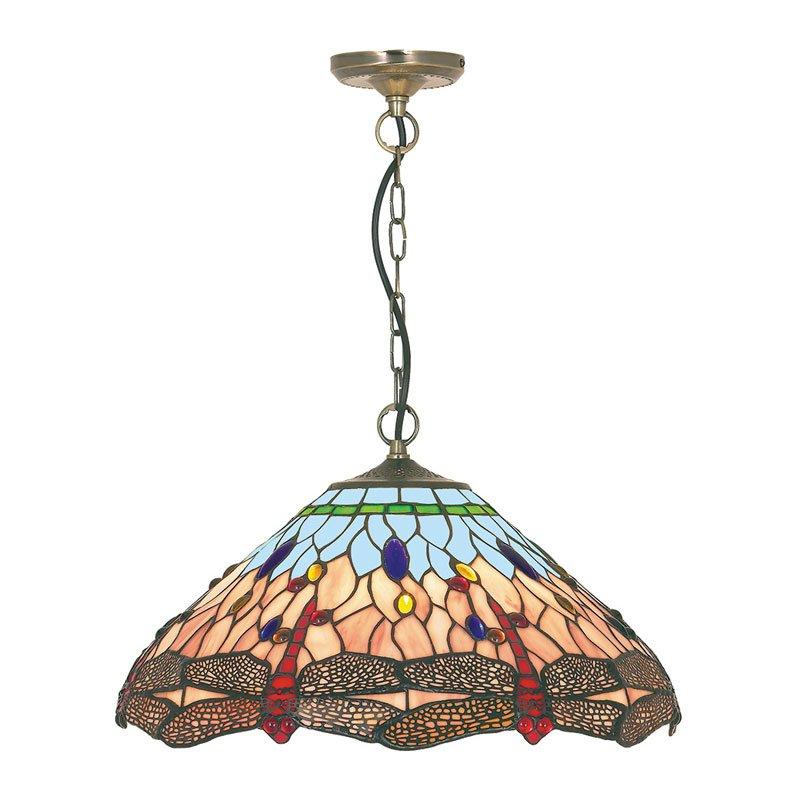 Hanglamp Tiffany glas H