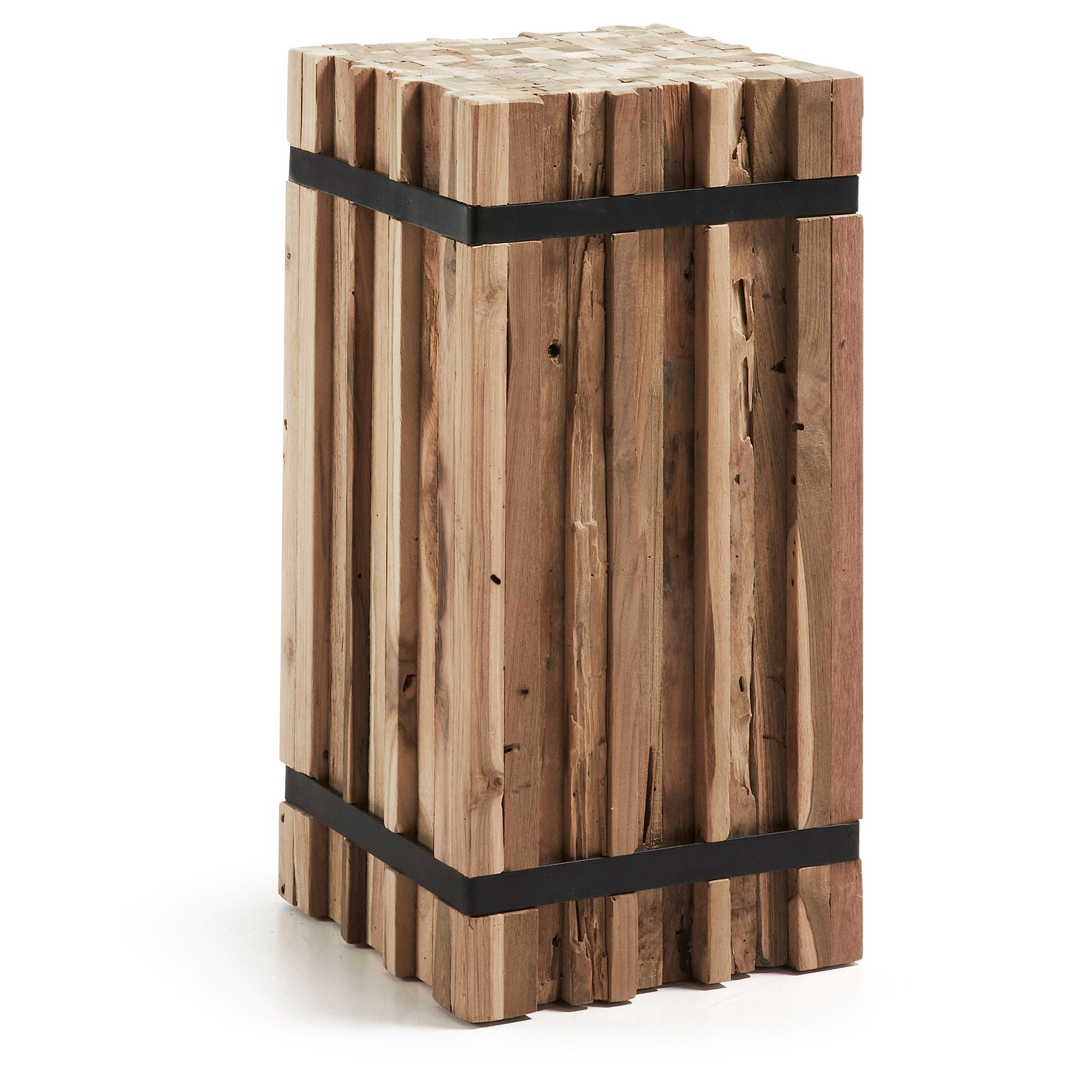 Decoratief houten blok