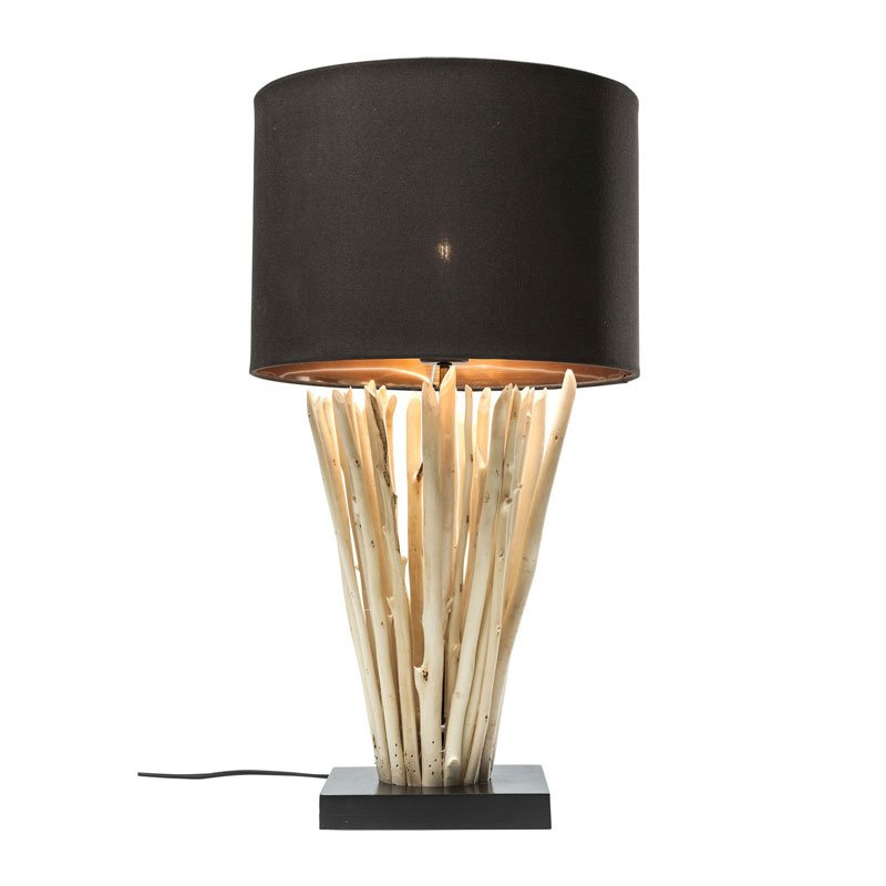 Houten design tafellamp Casolare