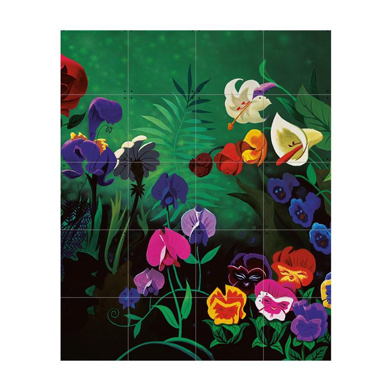 Wanddecoratie bloemstilleven