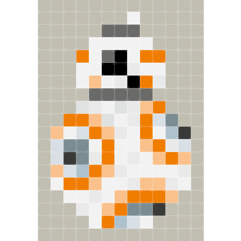 Muurdecoratie BB-8