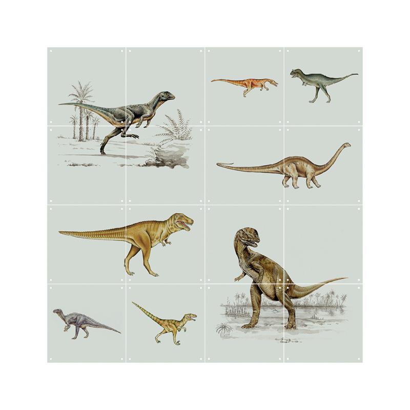 Wanddecoratie van dinos