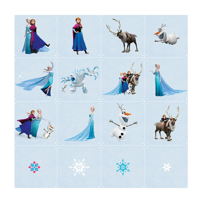 Wanddecoratie van Frozen