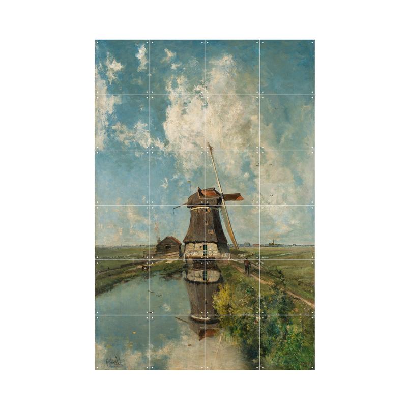 Wanddecoratie molen