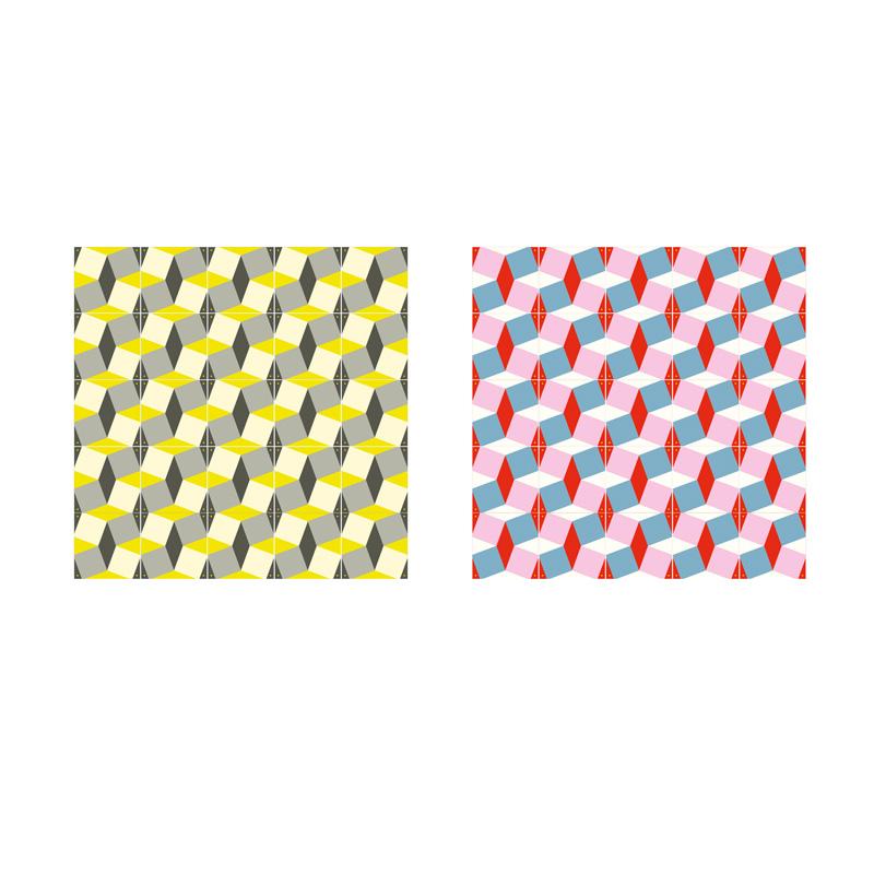 Dubbelzijdige wanddecoratie patroon