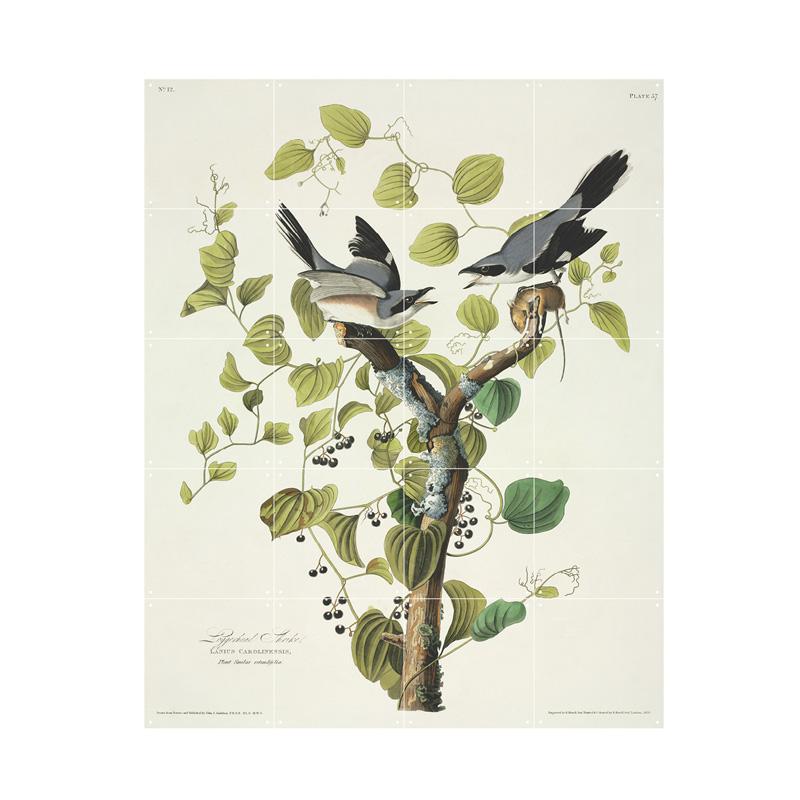 Wanddecoratie vogels in boom