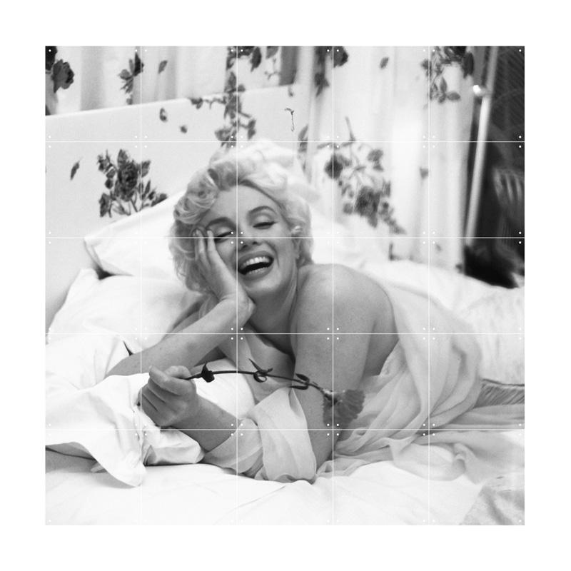 Wanddecoratie met foto Marilyn Monroe