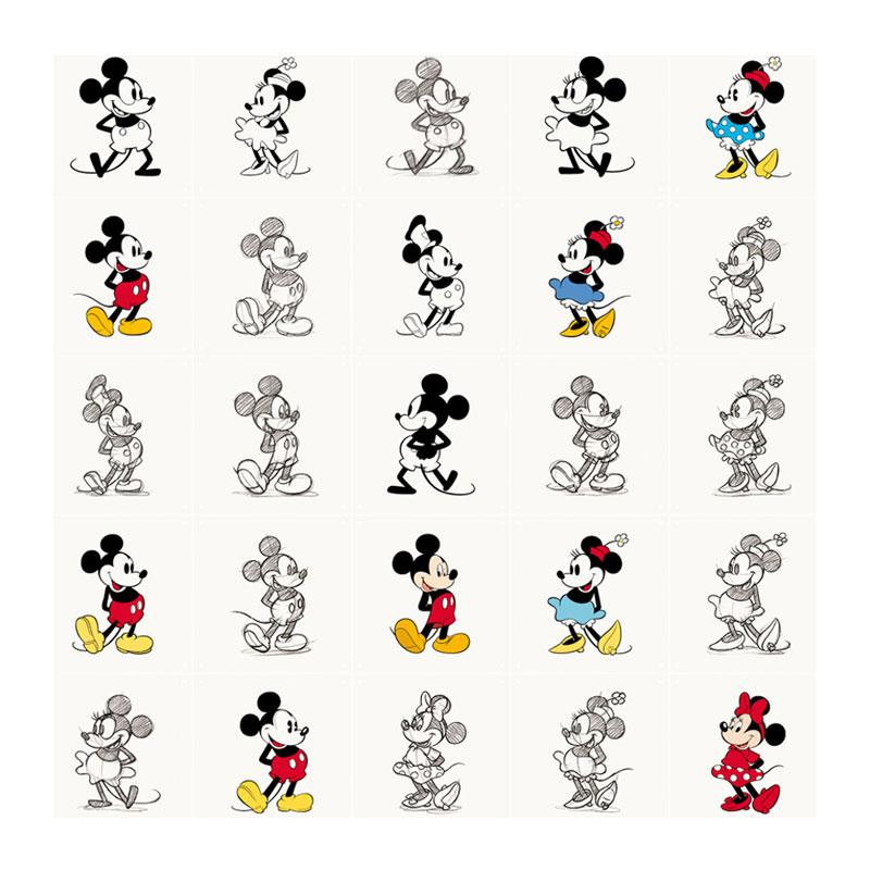 Decoratie Mickey en Minnie